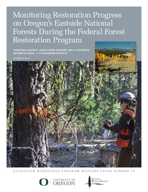 Title from PDF cover (viewed on September 7, 2017)., This archived document is maintained by the Oregon State Library as part of the Oregon Documents Depository Program. It is for informational purposes and may not be suitable for legal purposes., Includes bibliographical references (page 32)., Primarily funded by the Oregon Department of Forestry (MO124 ODF-1291A4-14) and the U.S. Forest Service (13-DG-11062765-723)., Mode of access: Internet from the Oregon Government Publications Collection., Text in English.