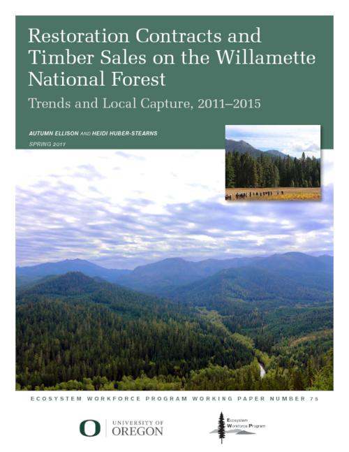 Title from PDF cover (viewed on September 7, 2017)., This archived document is maintained by the Oregon State Library as part of the Oregon Documents Depository Program. It is for informational purposes and may not be suitable for legal purposes., Includes bibliographical references (page 25)., Funded by the Oregon Department of Forestry's Federal Forest Health Collaborative Technical Assistance grant., Mode of access: Internet from the Oregon Government Publications Collection., Text in English.