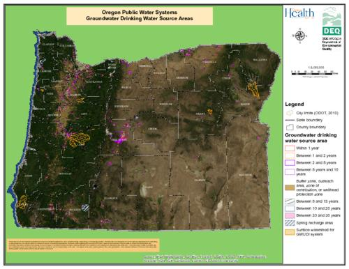 Title from PDF caption (viewed on September 8, 2017)., Relief shown by hill shading., Includes legend., This archived document is maintained by the State Library of Oregon as part of the Oregon Documents Depository Program. It is for informational purposes and may not be suitable for legal purposes., Mode of access: Internet from the Oregon Government Publications Collection., Text in English.