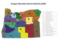 Oregon education service districts (ESD)
