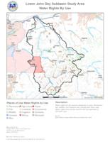 [Lower John Day Subbasin Study Area maps]