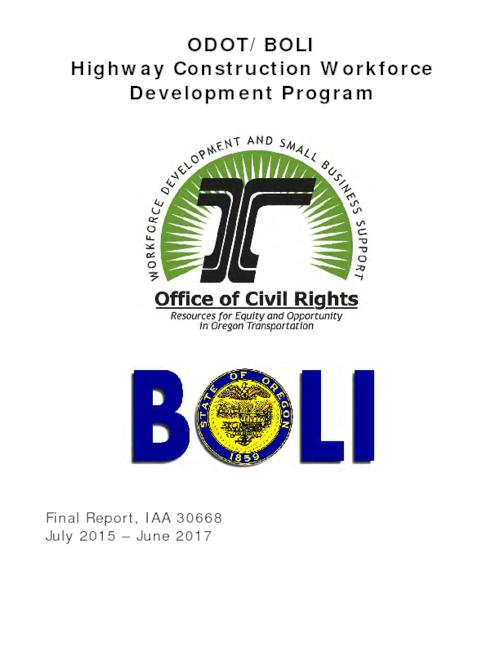 Title from PDF cover (viewed on October 19, 2017)., This archived document is maintained by the State Library of Oregon as part of the Oregon Documents Depository Program. It is for informational purposes and may not be suitable for legal purposes., Includes bibliographical references., Mode of access: Internet from the Oregon Government Publications Collection., Text in English.