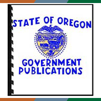 Oregon Government Publications