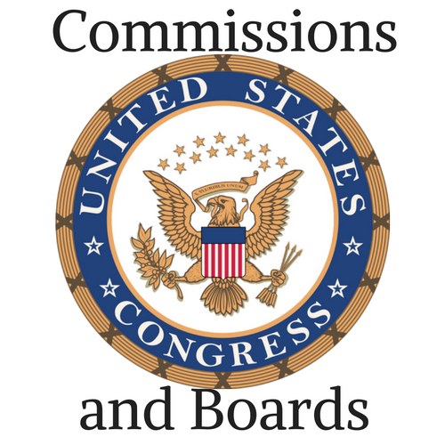 U.S. Congress Commissions and Boards