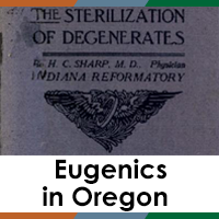 Eugenics in Oregon