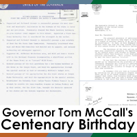Governor Tom McCall's Centenary Birthday