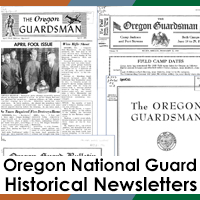 Oregon National Guard Historical Newsletters