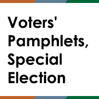 Voters' Pamphlets, Special Election