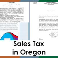 Sales Tax in Oregon