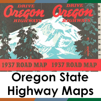 Oregon State Highway Maps